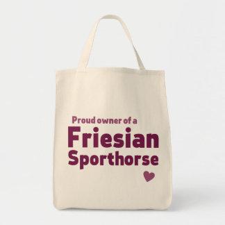 Friesian Sporthorse Tote Bag