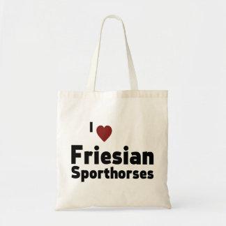 Friesian Sporthorses Canvas Bags
