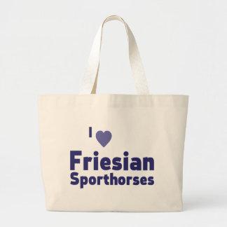 Friesian Sporthorses Tote Bags