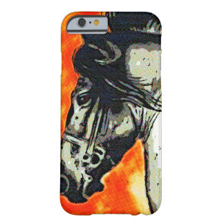 Friesian Stallion Barely There iPhone 6 Case