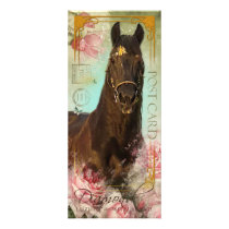 Friesian Stallion ~ Fan Card