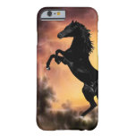 Friesian Stallion rearing Barely There iPhone 6 Case