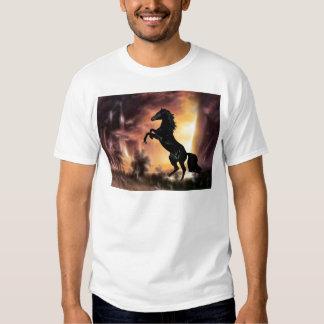 Friesian Stallion rearing T Shirt