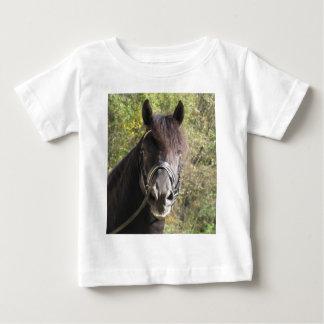 Friesian Stallion Rubin Baby T-Shirt
