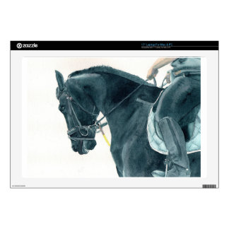 Friesian X Horse 2 Skins For Laptops