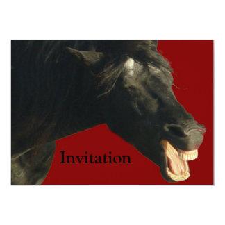 """FriesianJoker#1 Invitación 5"""" X 7"""""""