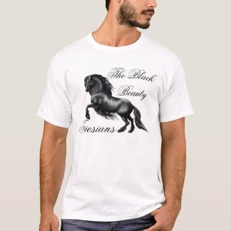 Friesians, black letter T-Shirt