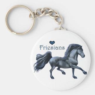 Friesians Love keychain