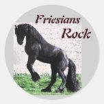 Friesians Rock Stickers