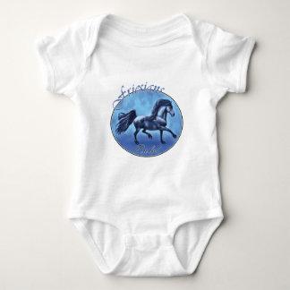 Friesians Rule Baby Bodysuit