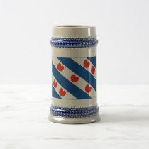 Friesland Flag Beer Stein