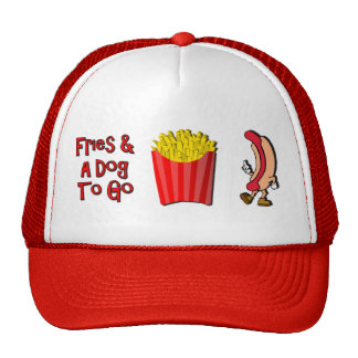 Friess and Dog To Go Trucker Hat