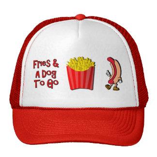 Friess y perro a ir gorras