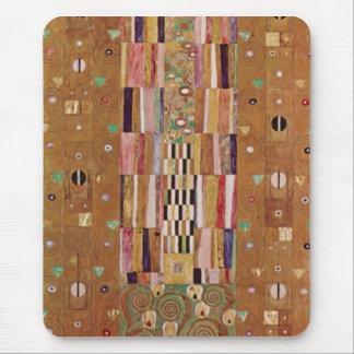 Frieze by Gustav Klimt Mousepads