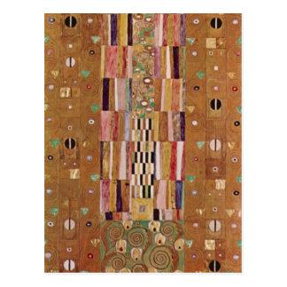 Frieze by Gustav Klimt Post Card