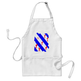 frieze country skating adult apron