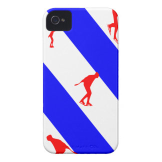 frieze country skating iPhone 4 Case-Mate case