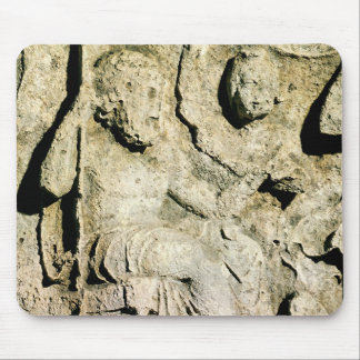 Frieze depicting King Priam and Hecuba Mouse Pad