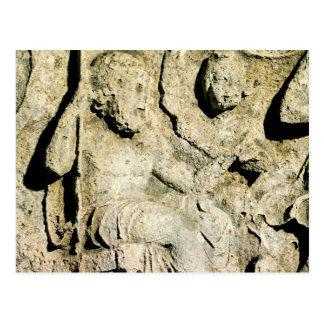 Frieze depicting King Priam and Hecuba Postcard