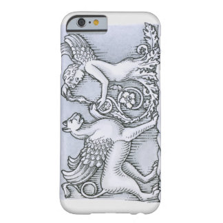 Frieze depicting mythical winged animal and barely there iPhone 6 case