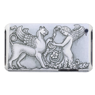 Frieze depicting mythical winged animal and iPod touch Case-Mate case