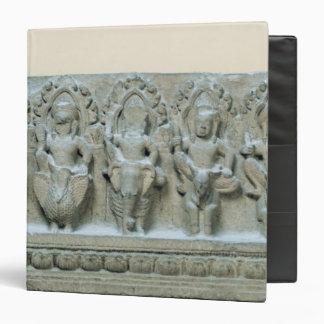Frieze depicting nine divinities 3 ring binders