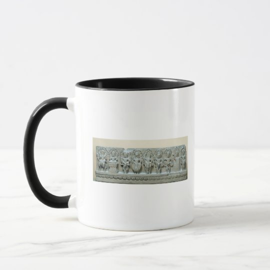 Frieze depicting nine divinities mug