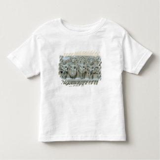 Frieze depicting nine divinities toddler t-shirt