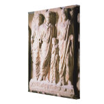 Frieze detail showing Emperors Hadrian Canvas Print