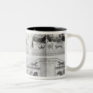 Frieze from the Grotta del Triclinio Two-Tone Coffee Mug