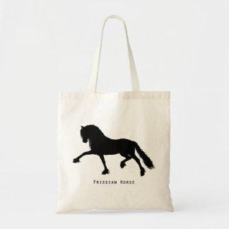 Frieze horse tote bag