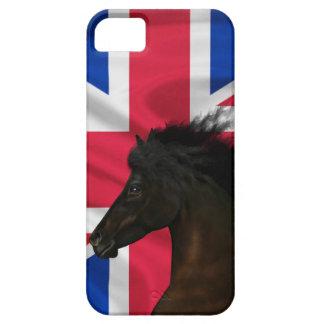 Frieze horse with Union Jack iPhone SE/5/5s Case
