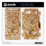 Frieze II by Gustav Klimt HTC T-Mobile G2 Decals