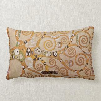 Frieze II by Gustav Klimt Throw Pillow