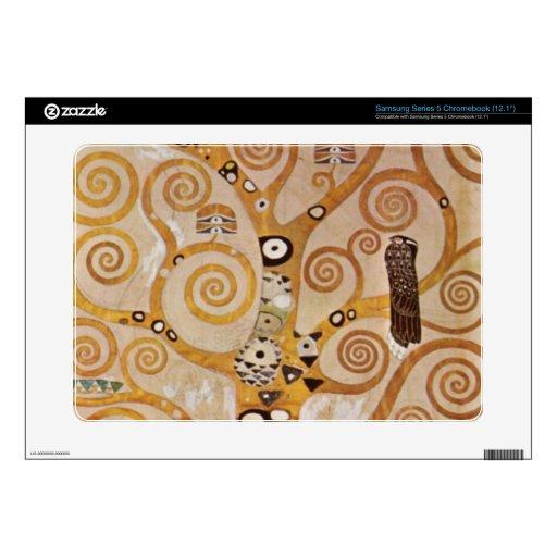 Frieze II by Gustav Klimt Samsung Chromebook Decal