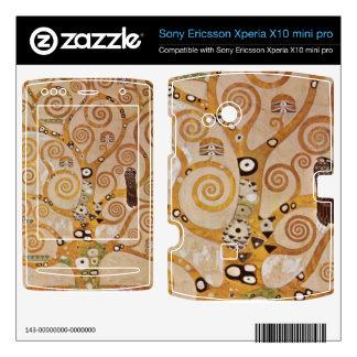 Frieze II by Gustav Klimt Xperia X10 Skins