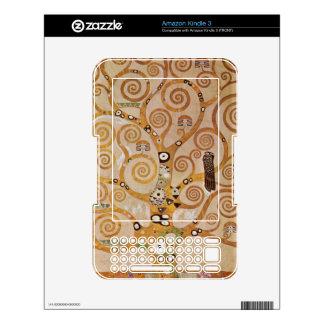 Frieze II by Gustav Klimt Skins For The Kindle