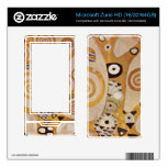 Frieze II by Gustav Klimt Skin For Zune HD