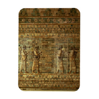 Frieze of archers of the Persian king's guard, fro Rectangular Photo Magnet