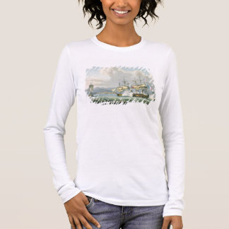Frigate action in Vizagapatam Roads, off India, 18 Long Sleeve T-Shirt