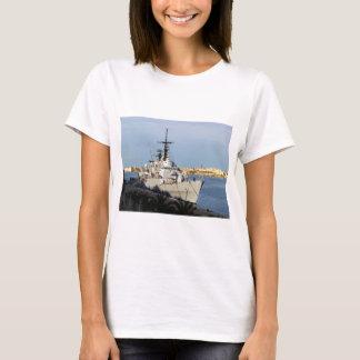 Frigate in Malta. T-Shirt