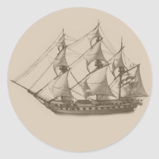 Frigate sticker