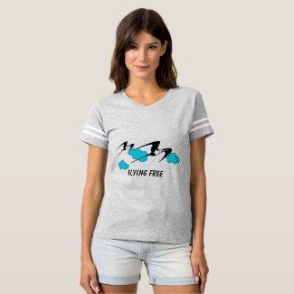 Frigatebird Flying Free T-shirt