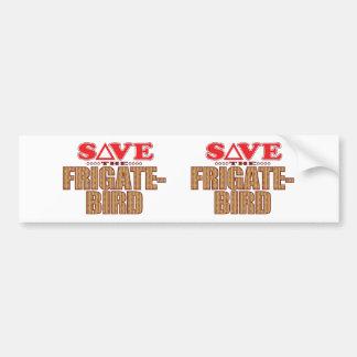 Frigatebird Save Bumper Sticker