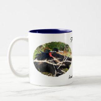 Frigatebirds in Love Two-Tone Coffee Mug
