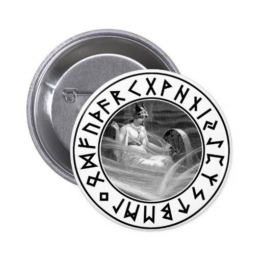 Frigg Rune Shield Button