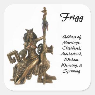 Frigg Square Sticker