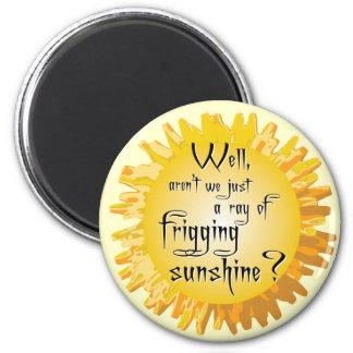 Friggin Ray of Sunshine Magnet