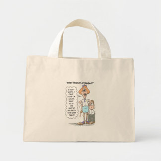 Fright Attendant Canvas Bags