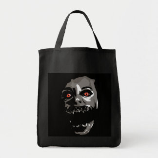 Fright Face Canvas Bags